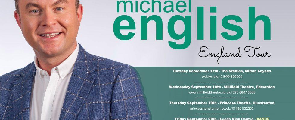 ENGLAND TOUR DATES