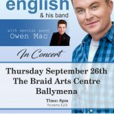 IRISH CONCERT TOUR – BRAID ARTS CENTRE, BALLYMENA (SOLD OUT)