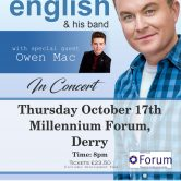 IRISH CONCERT TOUR – MILLENNIUM FORUM, DERRY CITY