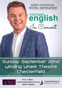 michael english chesterfield concert poster