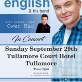 IRISH CONCERT TOUR – TULLAMORE COURT HOTEL