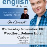 IRISH CONCERT TOUR – WOODFORD DOLMEN HOTEL, CARLOW