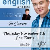 IRISH CONCERT TOUR – GLÓR THEATRE, ENNIS