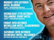 Catch Michael in Concert this October!