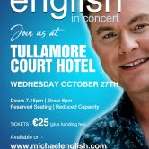 CONCERT – TULLAMORE COURT HOTEL, TULLAMORE, CO. OFFALY