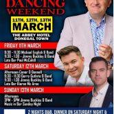 DANCE – JIMMY BUCKLEY WEEKEND, ABBEY HOTEL, DONEGAL TOWN
